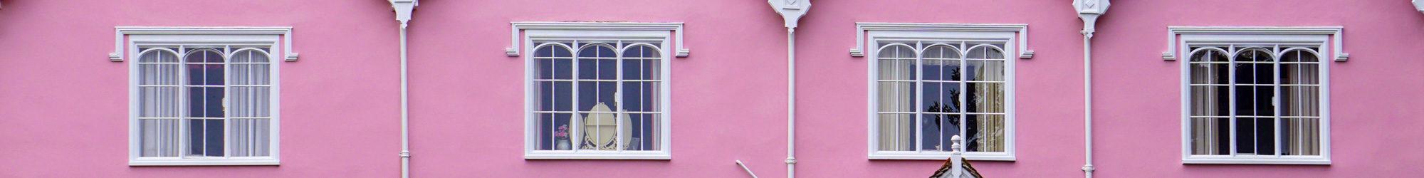 britische Fenster - wir fühlen uns heute morgen nach England versetzt
